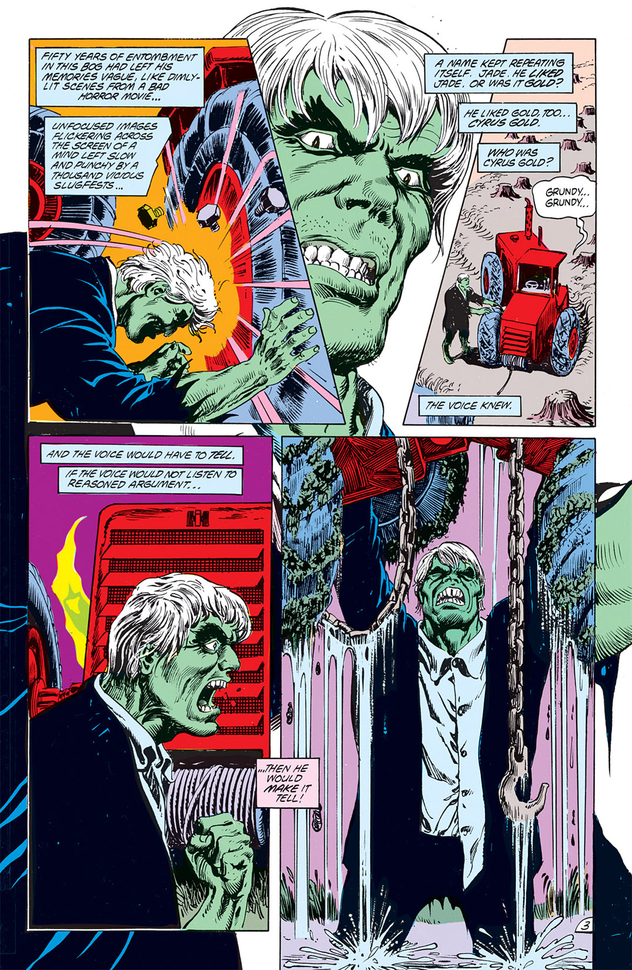 Swamp Thing (1982) Issue #67 #75 - English 5