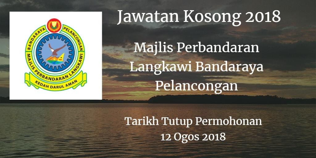 Jawatan Kosong MPLBP 12 Ogos 2018