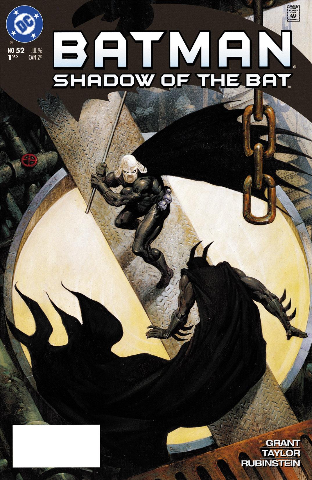 Batman: Shadow of the Bat 52 Page 1