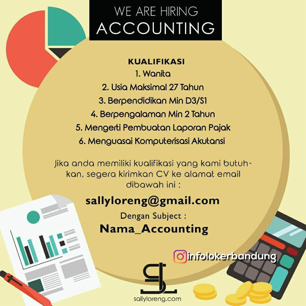 Lowongan Kerja Accounting CV. Multi Abadi Sedjati Februari 2018