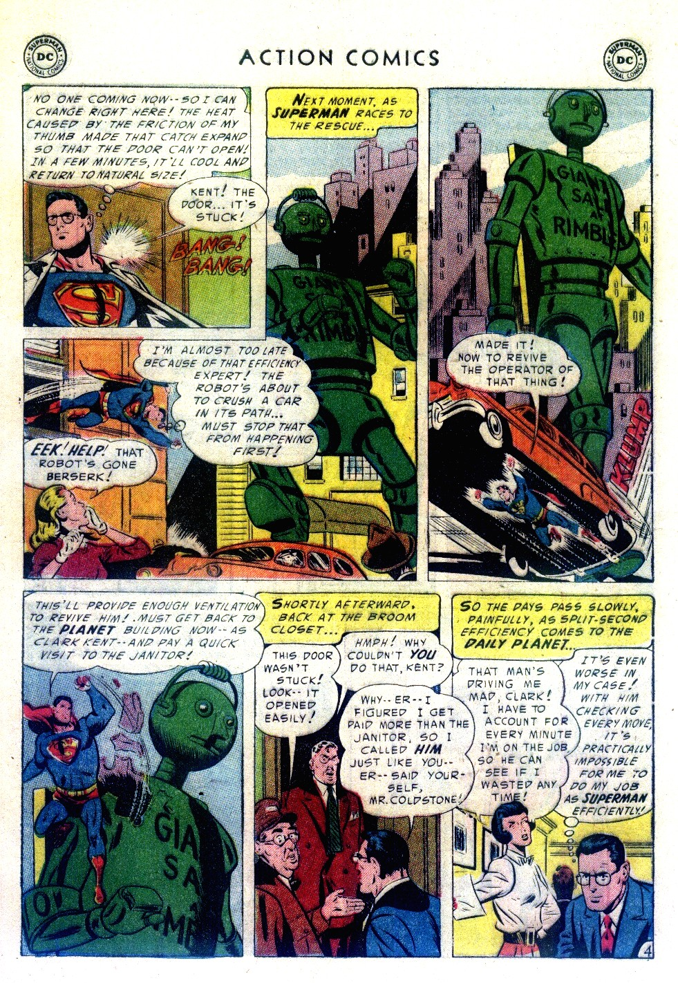 Read online Action Comics (1938) comic -  Issue #192 - 6