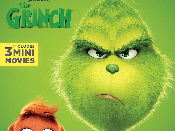 The Grinch: Coming to Blu-Ray/ DVD February 5 {A Review}