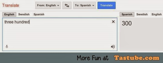 Thanks you google translator