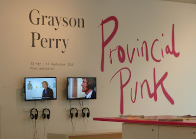 The Provincial Punk exhibition.