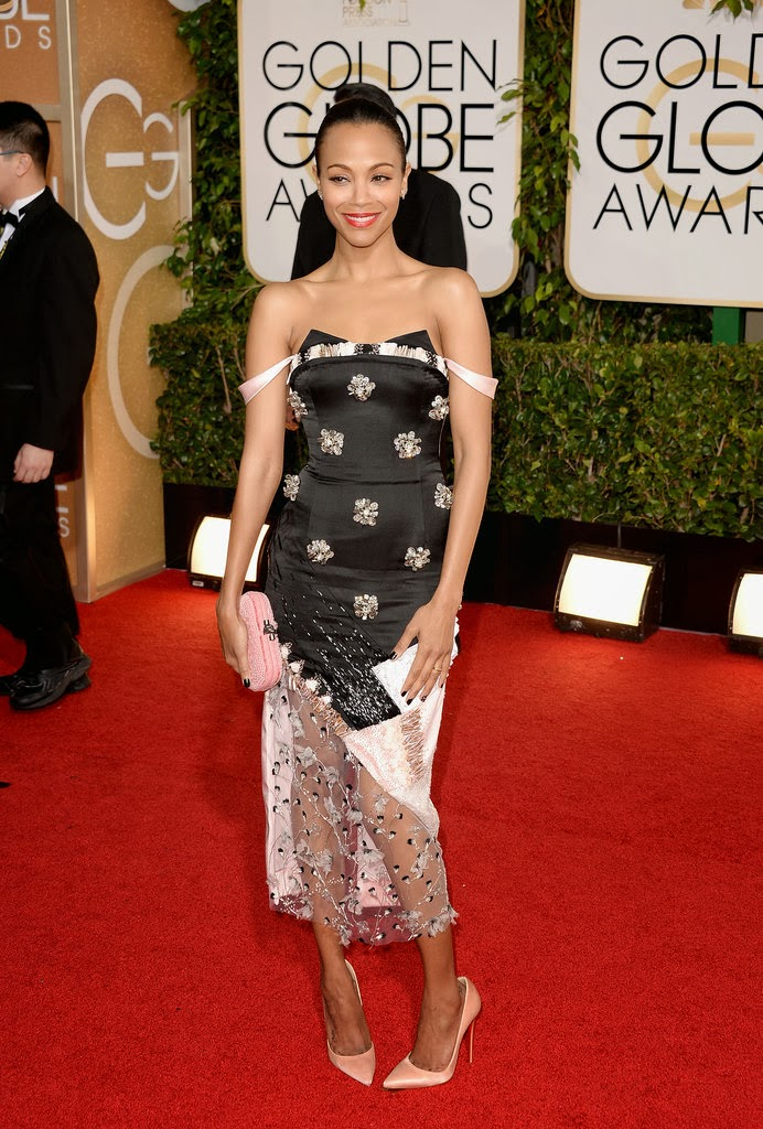 Stunning looks and sleek natural hair at the 2014 Golden Globes