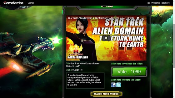 Star Trek Alien Domain Anniversary Video Contest