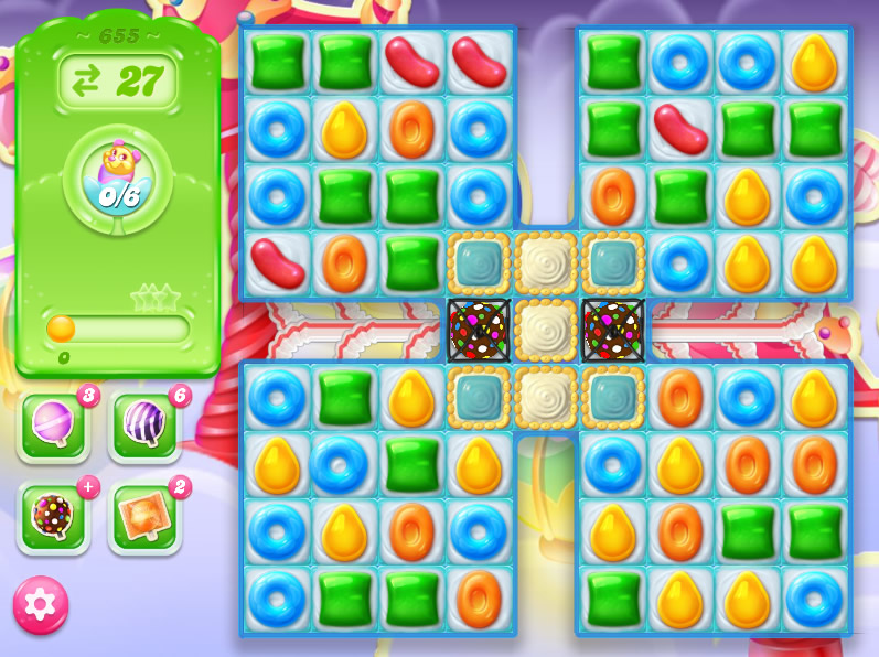 Candy Crush Jelly Saga level 655
