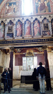 Altar das relíquias da Sancta Sanctorum