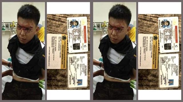 Netizen Heboh Tersangka Penusuk Polisi Masih Hidup tapi Dikabarkan Sudah Tewas