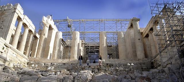 Arquitetura e história do Propileu, Atenas