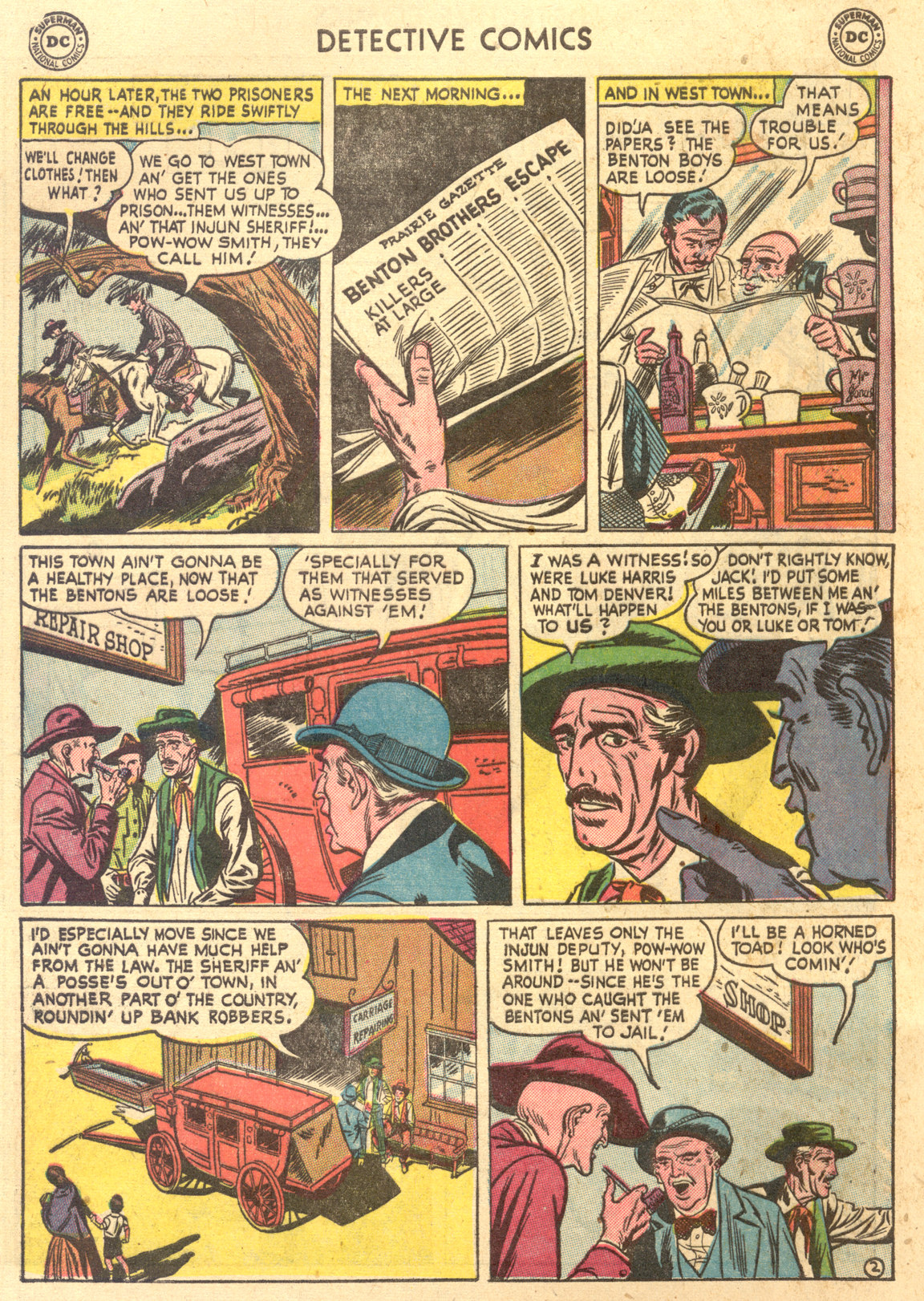 Read online Detective Comics (1937) comic -  Issue #194 - 36