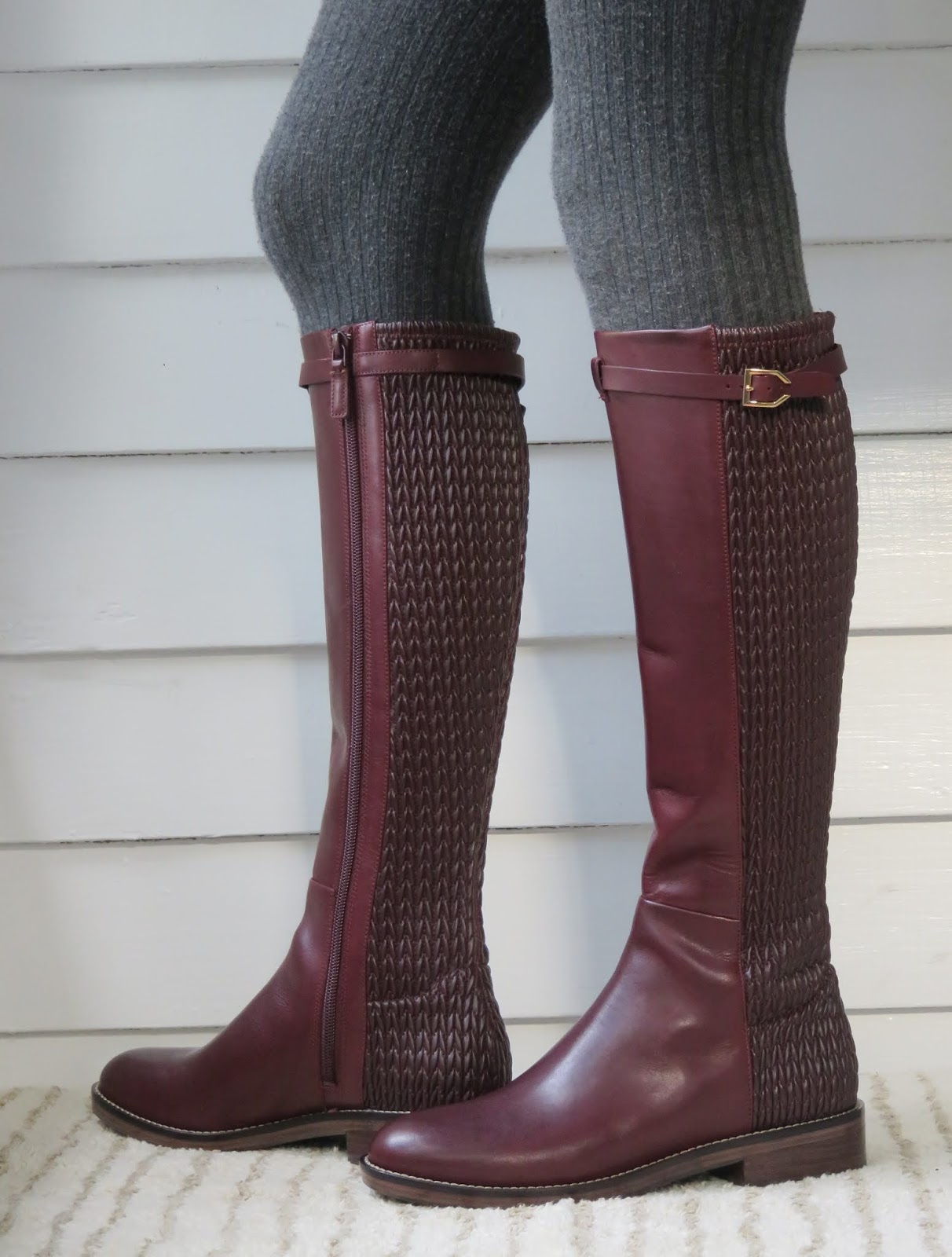 Howdy Slim Riding Boots For Thin Calves Cole Haan Lexi