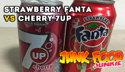 Fanta Strawberry e 7UP Cherry