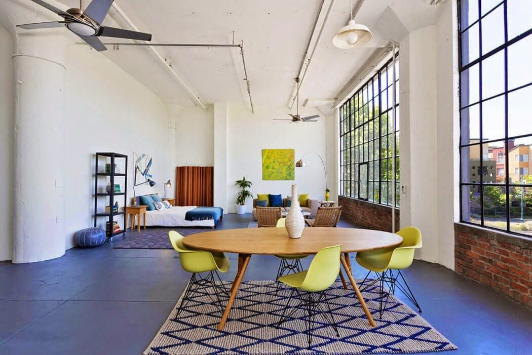 Loft en california visual jill interior decorating - Loft de diseno ...