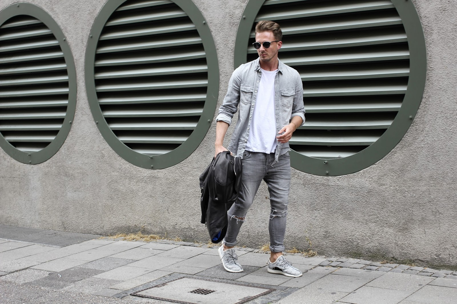 This Time I Am Going For Grey Denim It Is Easy And Goes Super Well With Any Kind Of Jackets Acessoires Or Shoes Take A Lot Hopefully Get Inspred