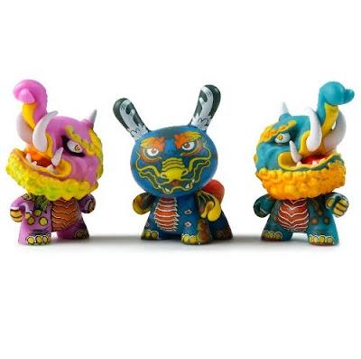 Kaiju Dunny Battle Artist Series by Kidrobot x Clutter
