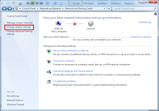 Cara Setting IP Address pada Windows 7
