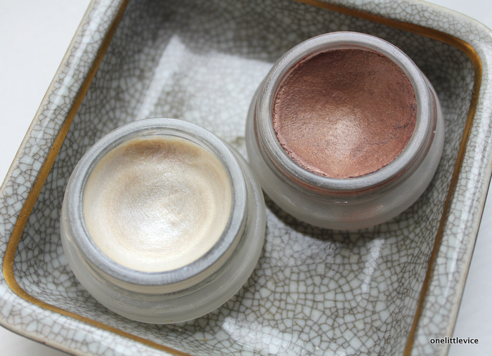one little vice beauty blog: natural cream highlighter and bronzer