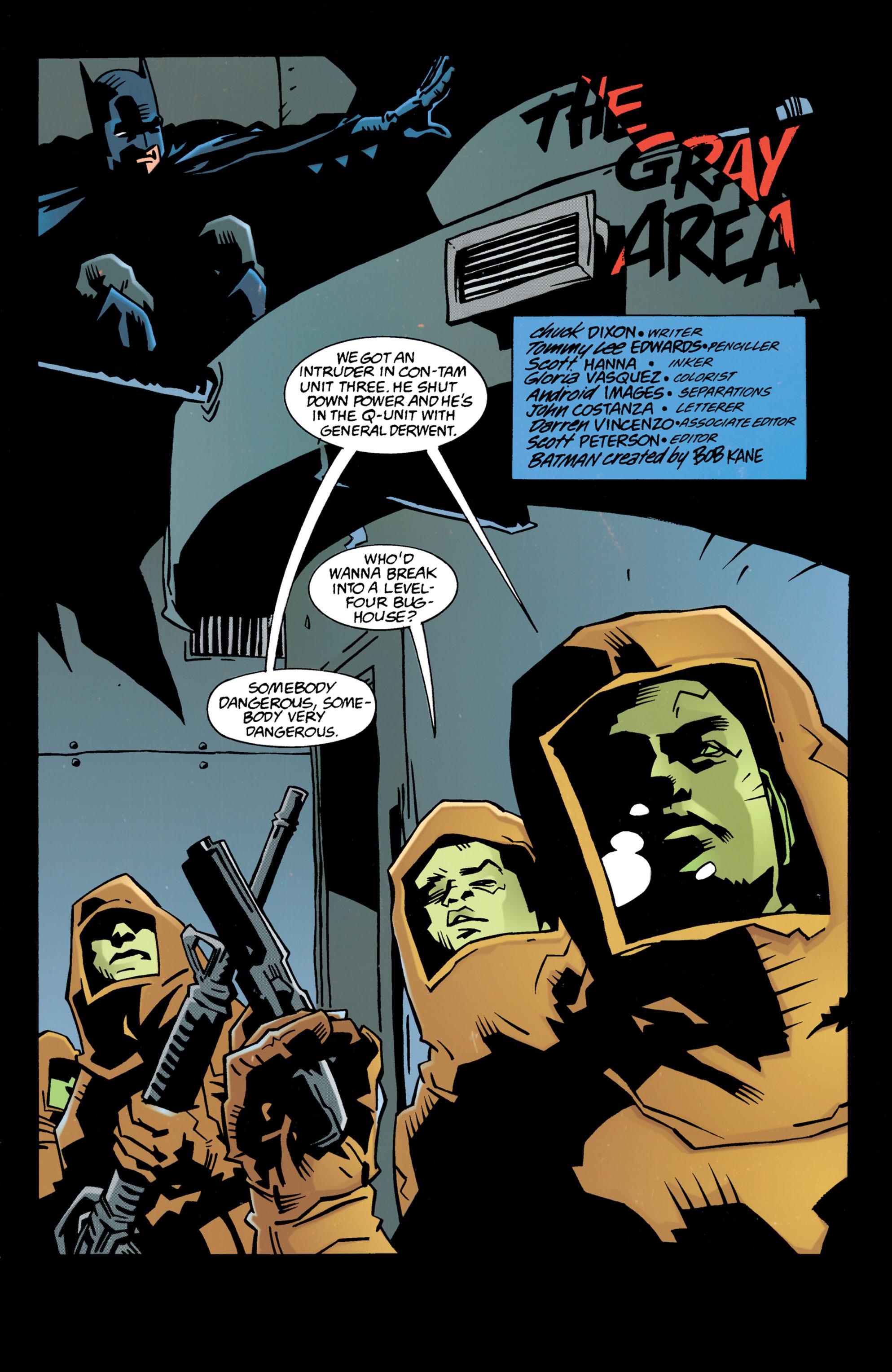 Detective Comics (1937) 695 Page 1