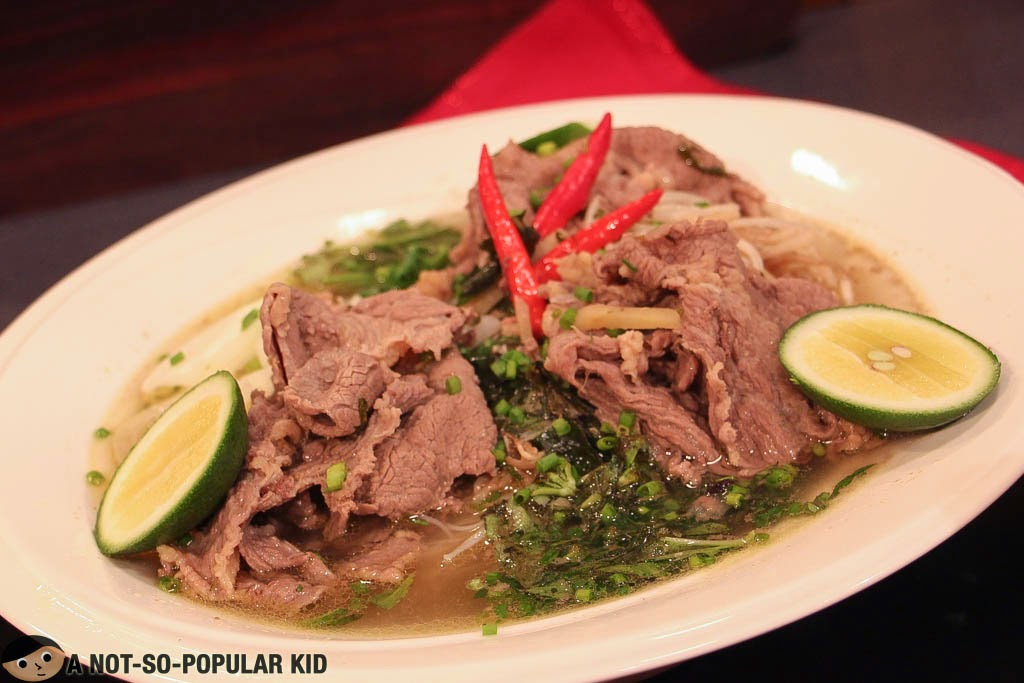 Vietnamese Pho Beef Noodles Recipe by Chef Boy Logro
