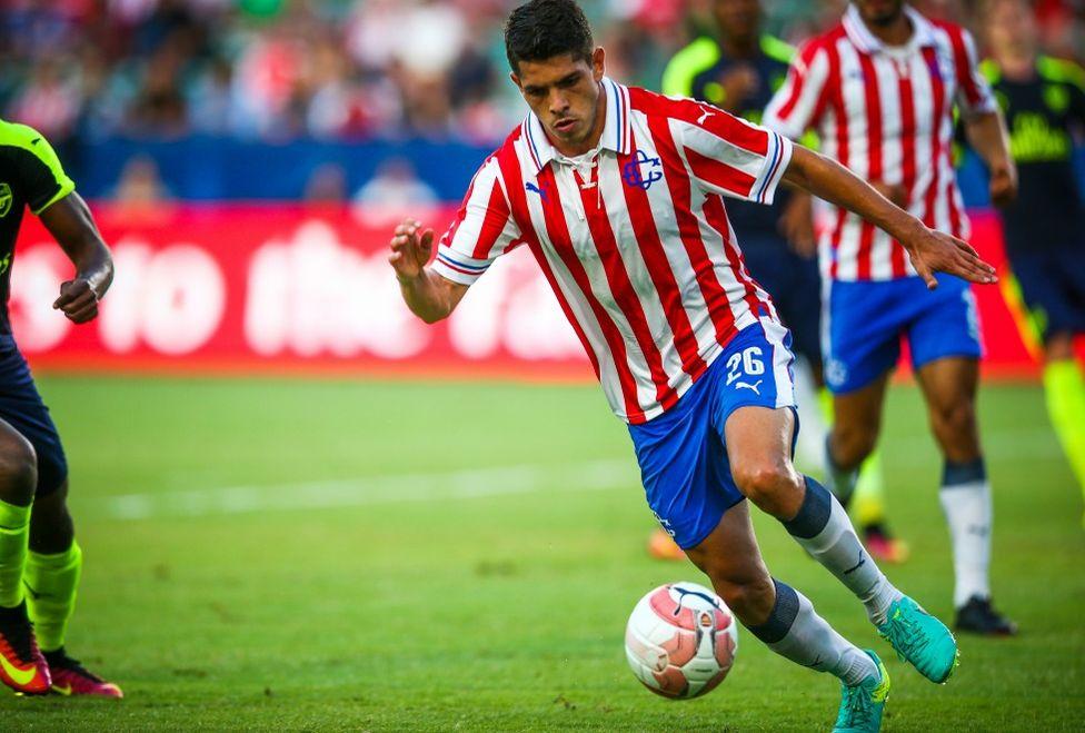 El lateral Carlos Villanueva.