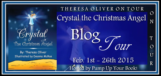 Crystal the Christmas Angel Virtual Book Publicity Tour!