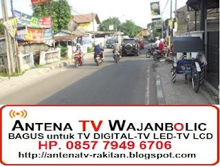 Jual ANTENA TV WAJANBOLIC  ALUN-ALUN - Jl Veteran BEKASI