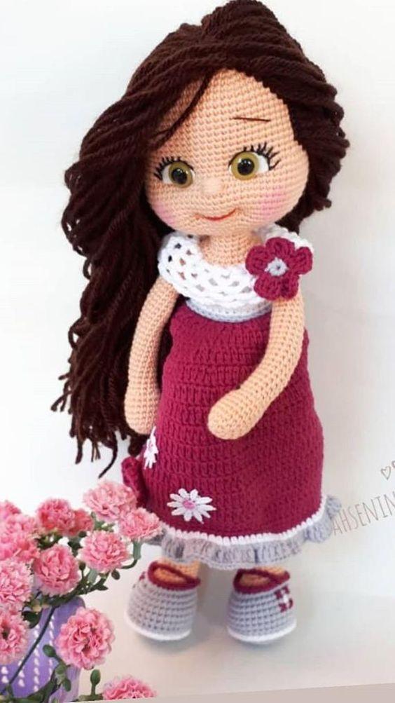 Boneca Molly- Amigurumi   Tricrochetando com a Jane   1003x564