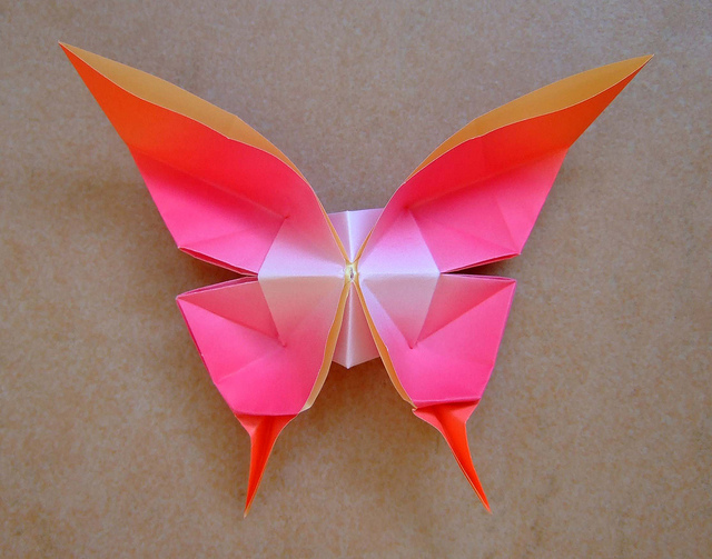 stb2 origami swallowtail butterfly instruction diagrams great design of