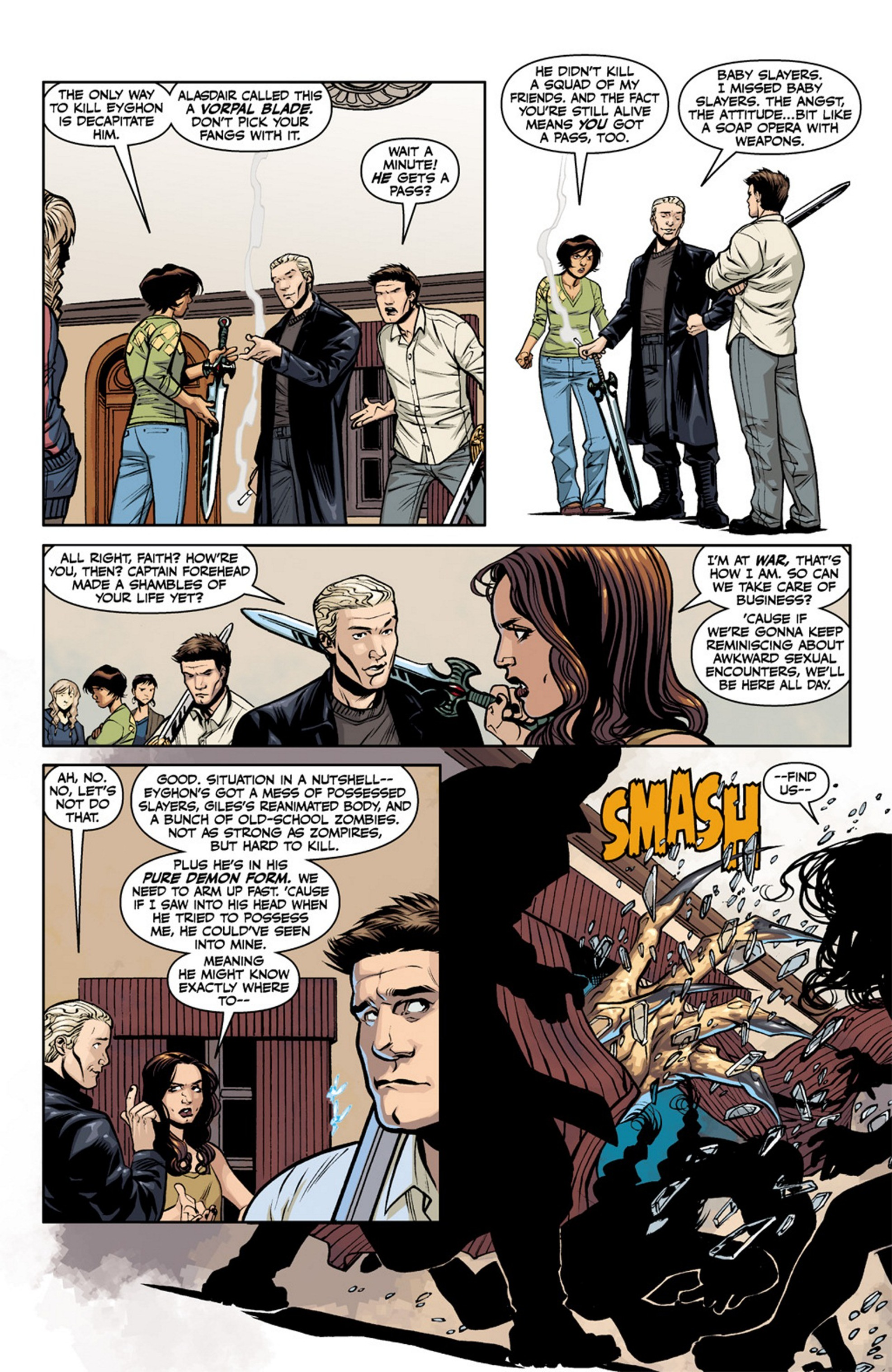 Read online Angel and Faith comic -  Issue #19 - 9