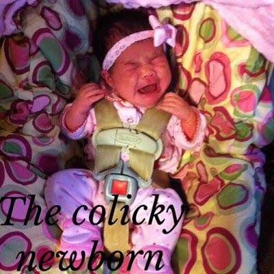 The Colicky Newborn {Guest Post}
