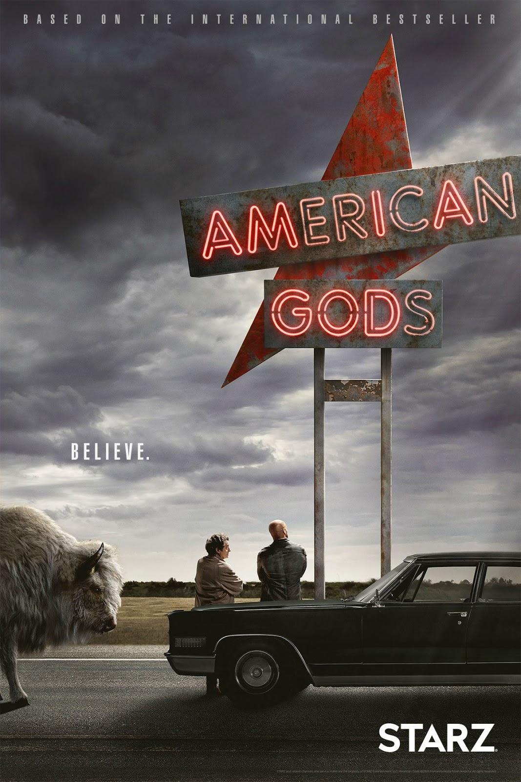 American Gods Temporada 1 1080p -720p Dual Latino/Ingles