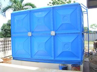 harga tangki air panel fiber frp