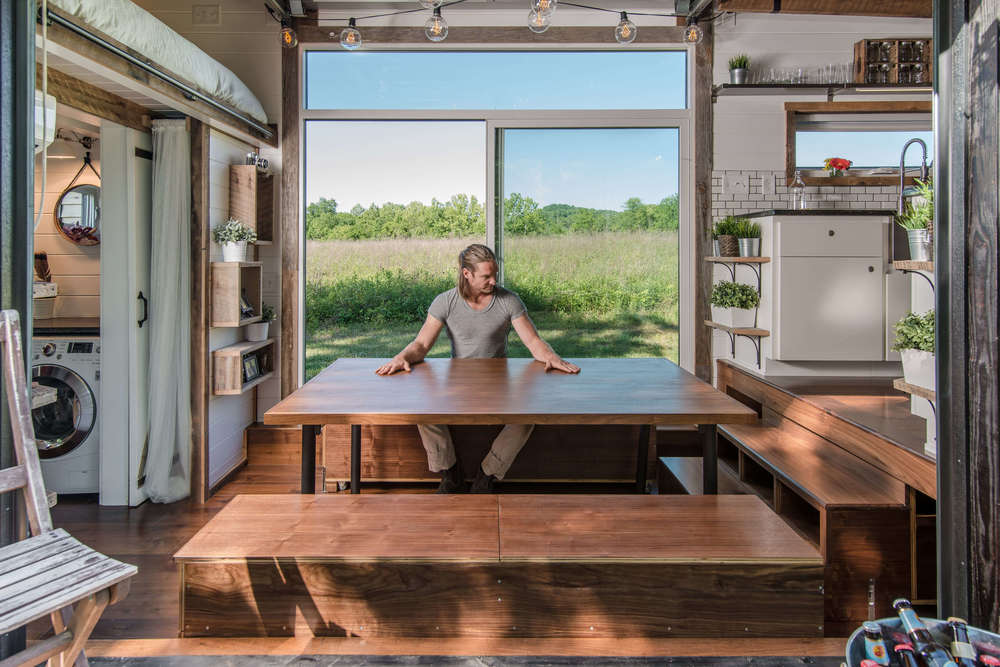 Tiny House Town The Alpha By New Frontier Tiny Homes