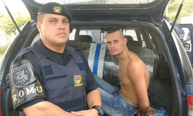 Marginal tenta matar seu irmão a golpes de facão na favela do Capuava e acaba detido pelas Rondas Ostensivas Municipais de Santo André