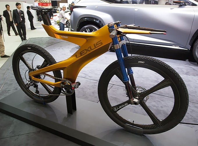 ... In Recent Years Itu0027s Been Seeking In Another Type Of Vehiclethe Bicycle.  As A Result, Itu0027s Now Possible To Buy A. US$10,000 Lexus F Sport Road ...