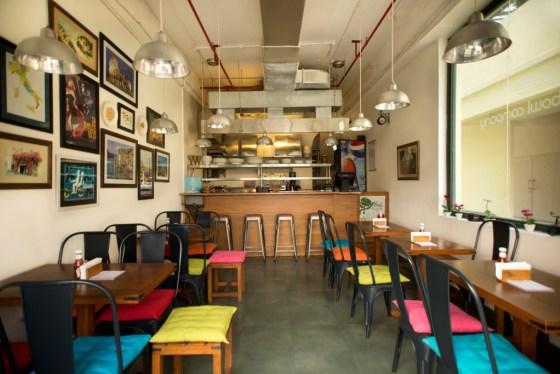 Italian restaurant in DLF Gurgaom