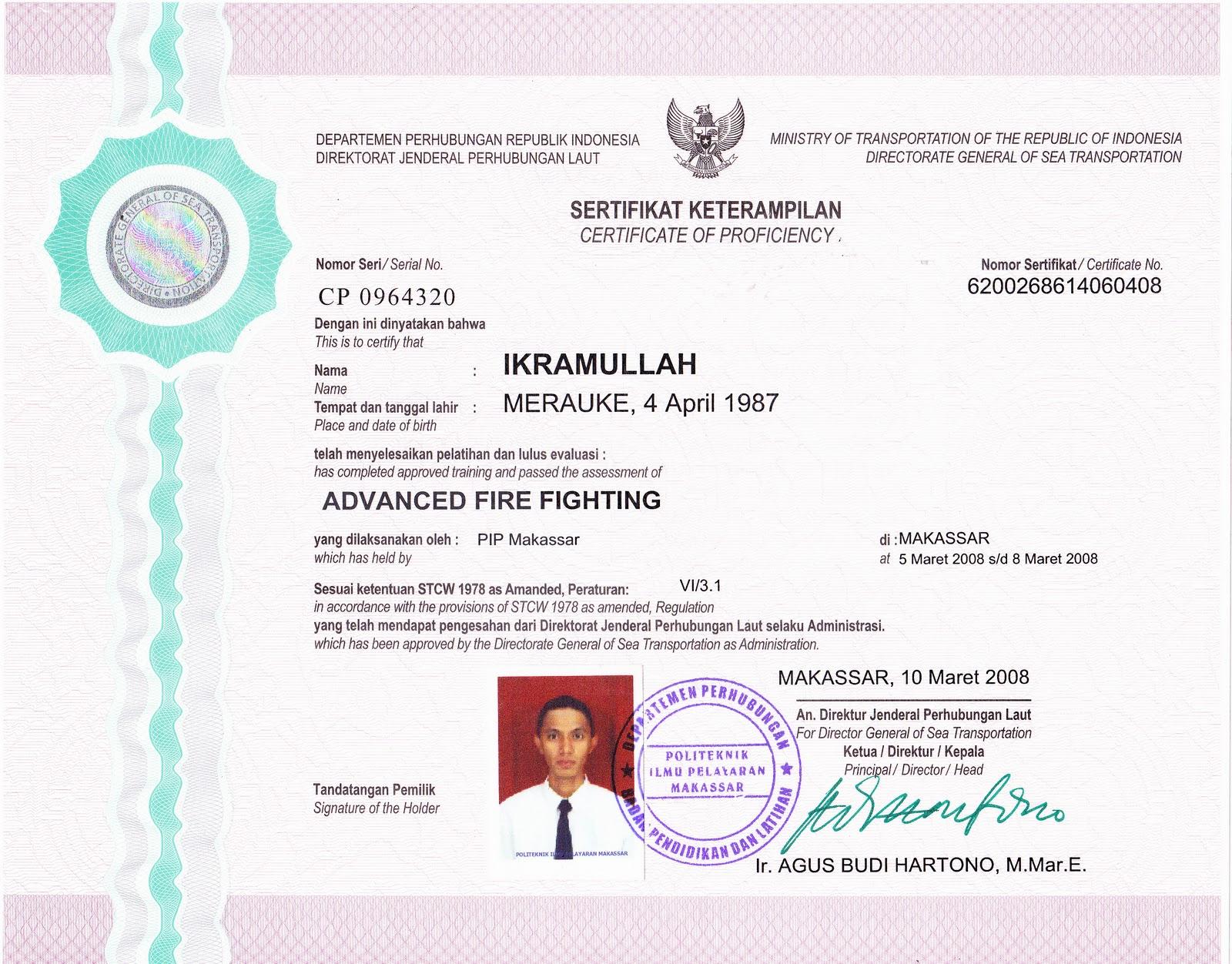 Info Pelaut Amp Kelautan Syarat Pendidikan Diklat Kursus