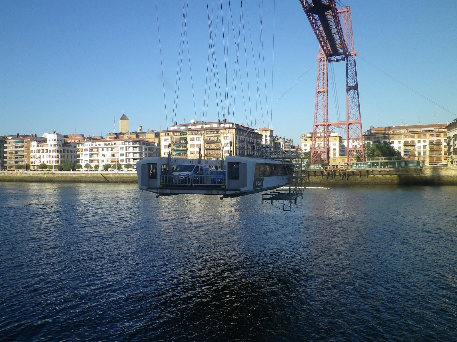 Kraj Basków Puente Colgante