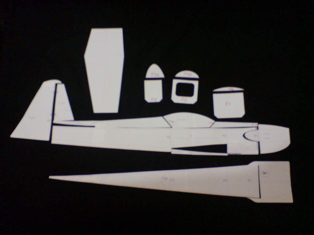 Moldes De Aviao Para Imprimir: Thiago L. Benedetti: Aeromodelo De Depron