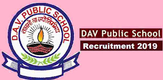 DAV Public School Recruitment 2019