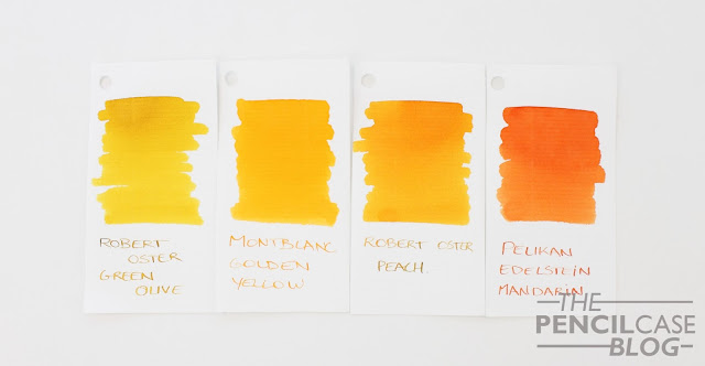 Inktastic: Robert Oster Peach ink review