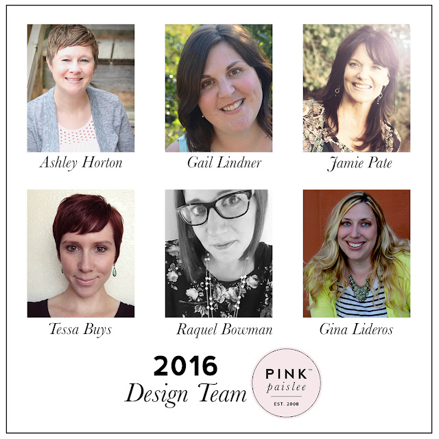 2016 Pink Paislee Design Team