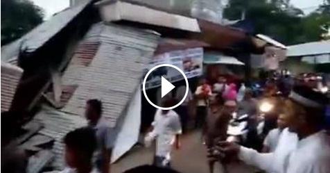 Ini Video Hancurnya Sejumlah Bangunan Di Aceh Akibat Gempa Berkekuatan 6,4 SR