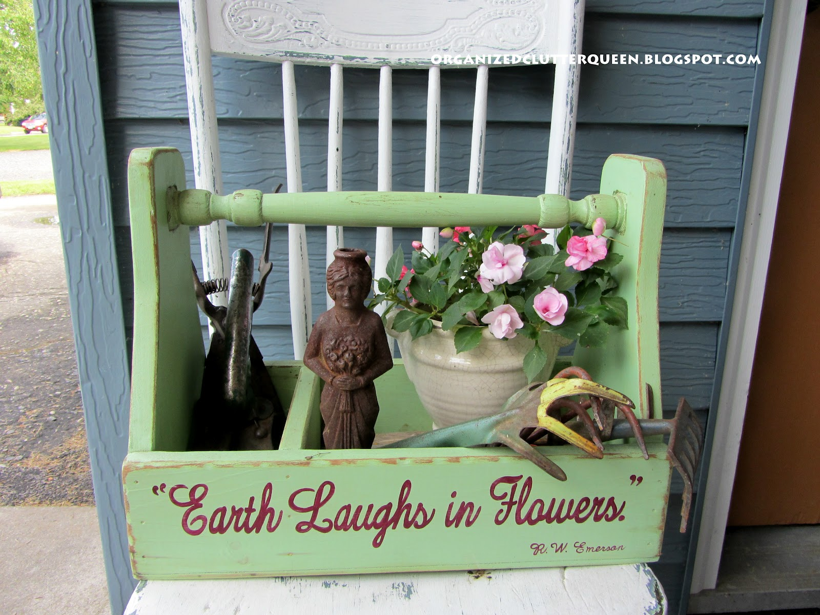 The Front Porch Patio | Organized Clutter