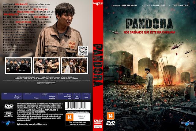 Capa DVD Pandora [Exclusiva]