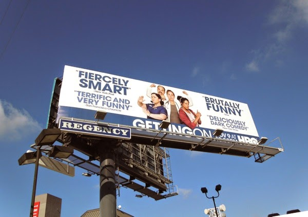 Getting On season 2 US remake billboard