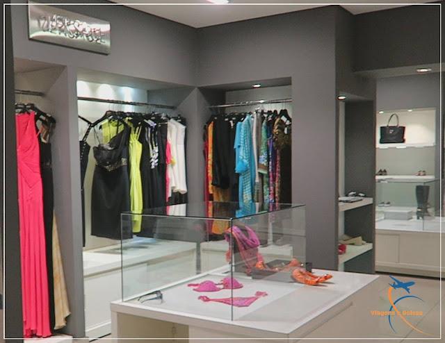 Espaço da Versace na SAX Department