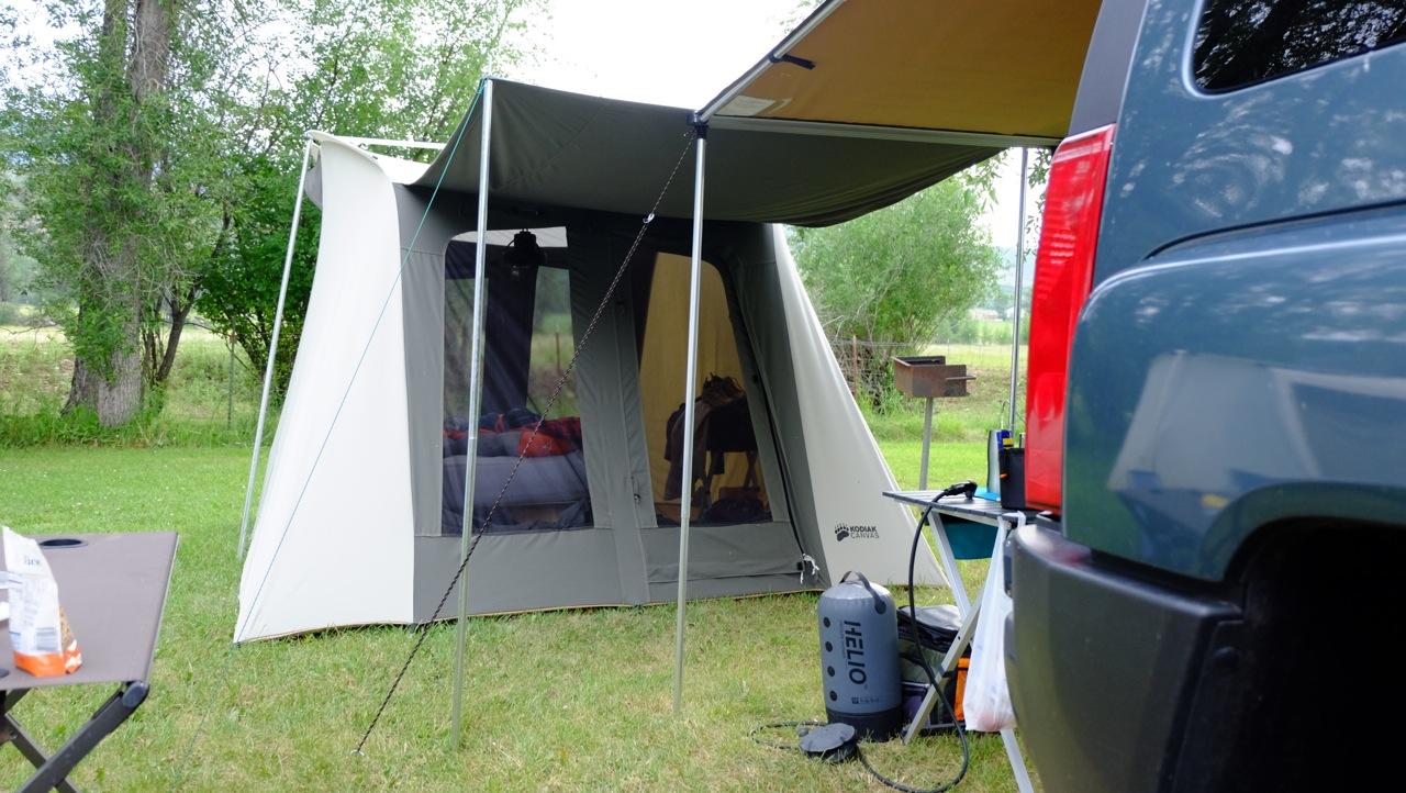 Kodiak Spring Bar Canvas 10X10 Tent