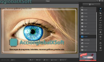 Recurrente y sencillo programa para editar imágenes y crear collages